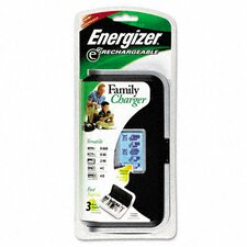 Family Battery Charger, Multiple Battery Sizes