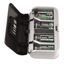 <strong>Energizer®</strong> Family Battery Charger, Multiple Battery Sizes