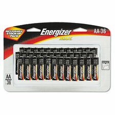 <strong>Energizer®</strong> Max Alkaline Batteries, Aa, 36 Batteries/Pack