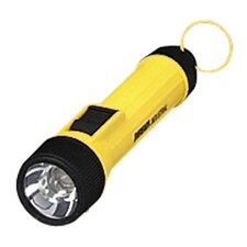 Industrial Flashlight, Uses AA Batteries, Yellow