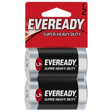 C Cell Heavy-Duty Battery  (2 Pack)