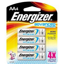 AA Lithium Battery (4 Pack)