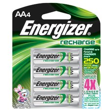 <strong>Energizer®</strong> AA ACCU Rechargeable High Energy Battery (4 Pack)