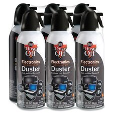Dust-Off XL Compressed Gas Duster (Set of 6)