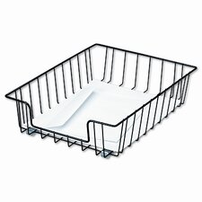Workstation Letter Desk Tray Organizer, Wire