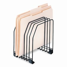 Workstation File Organizer, Seven Sections, Wire
