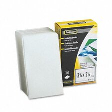 Laminating Pouches, 5 Mil, Business Card, 100/Pack