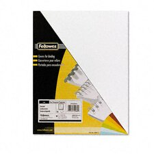 Pvc Presentation Binding System Covers, 100/Pack