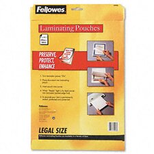 52226 Laminating Pouches, 3 Mil, 50/Pack