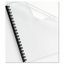 <strong>Fellowes Mfg. Co.</strong> Futura Presentation Binding System Covers, 11 X 8-1/2, 25/Pack