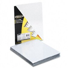 <strong>Fellowes Mfg. Co.</strong> Transparent Pvc Binding System Covers, 100/Pack