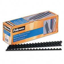 <strong>Fellowes Mfg. Co.</strong> Plastic Comb Bindings, 40 Sheet Capacity, 100 Combs/Pack
