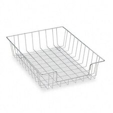 <strong>Fellowes Mfg. Co.</strong> Workstation Letter Desk Tray Organizer, Wire