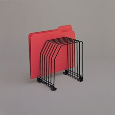 <strong>Fellowes Mfg. Co.</strong> Workstation File Organizer, Seven Sections, Wire
