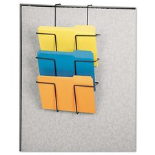 Wire Partition Additions Three-Pocket Organizer