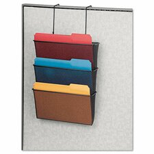 <strong>Fellowes Mfg. Co.</strong> Mesh Partition Additions Three-File Pocket Organizer