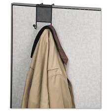 <strong>Fellowes Mfg. Co.</strong> Mesh Partition Additions Double-Garment Hook