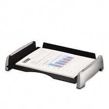 <strong>Fellowes Mfg. Co.</strong> Side Load Letter Desk Tray, Plastic