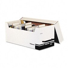 Corrugated Media File, Holds 125 Diskettes/35 Std. Cases