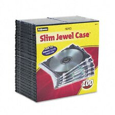 Thin Jewel Case, 100/Pack