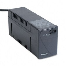 <strong>Fellowes Mfg. Co.</strong> Line Interactive with Avr Ups Battery Backup System, Four-Outlet 500 Volt-Amps