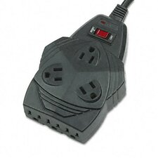 <strong>Fellowes Mfg. Co.</strong> Mighty 8 Surge Protector, 8 Outlets, 6Ft Cord