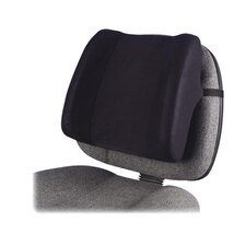 <strong>Fellowes Mfg. Co.</strong> High-Profile Backrest with Soft Brushed Cover