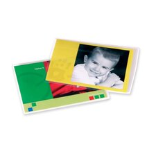 "Self-Adhesive Laminating Pouches, Photo, 4-1/4""x6-1/4"", 5/PK, CL"