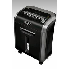 <strong>Fellowes Mfg. Co.</strong> Medium-Duty PS-79Ci Cross-Cut Shredder, Black/Silver