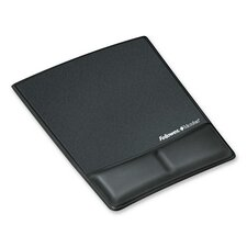 <strong>Fellowes Mfg. Co.</strong> Memory Foam Wrist Rest with Attached Mouse Pad