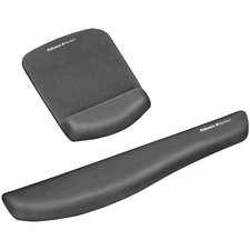 <strong>Fellowes Mfg. Co.</strong> Plush Touch Wristrest And Mousepad