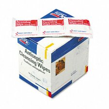 <strong>First Aid Only™</strong> Antiseptic Cleansing Wipes, 50/Box