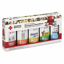 <strong>First Aid Only™</strong> American Red Cross Emergency Smartpack for One Person, Nylon Case