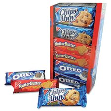 Nabisco Variety Pack Cookies, 1 3/4 Oz Packs, 12 Packs/Box