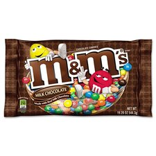 M and M'S M and M'S Chocolate Candies, 19.2 Oz Pack