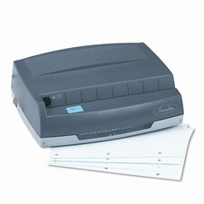"Swingline 50-Sheet 350Md Electric Three Hole Punch, 1/4"" Holes"