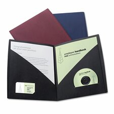 Impact Designer Two-Pocket Folder (Set of 5)
