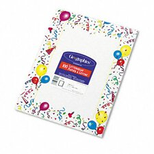 Design Paper, 24 Lbs., Party, 100/Pack
