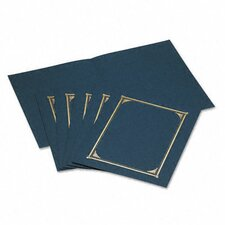 Certificate/Document Cover, 12-1/2 X 9-3/4, 6/Pack