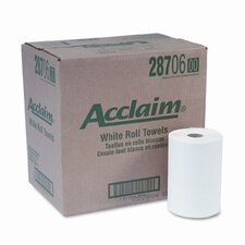 Acclaim Nonperforated Paper Towel Rolls, 7-7/8 x 350', White