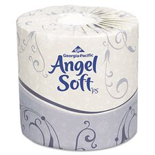 Angel Soft Ps Premium 2-Ply Toilet Paper - 450 Sheets per Roll / 80 Rolls per Carton