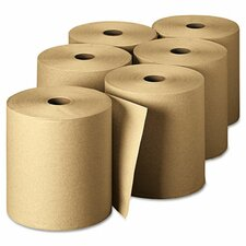 Envision High-Capacity Nonperforated 1-Ply Paper Towel - 6 Rolls per Carton