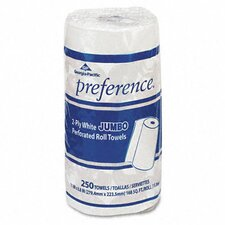 Preference Perforated Paper Towel, 250/Roll, 12/Carton