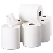Sofpull Perforated 1-Ply Paper Towels - 320 Sheets per Roll / 6 Roll per Carton