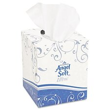 Angel Soft Ps Ultra Premium Facial 2-Ply Tissue - 96 Sheets per Box / 36 Boxes per Carton