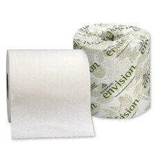 Envision Standard 1-Ply Bath Tissue - 1210 Sheets per Roll