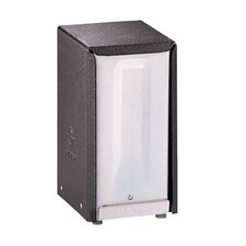 HyNap Napkin Dispenser in Black / Chrome