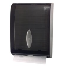 C-Fold / Multifold Towel Dispenser in Translucent Smoke