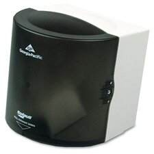 Sofpull Center Pull Hand Towel Dispenser in Smoke