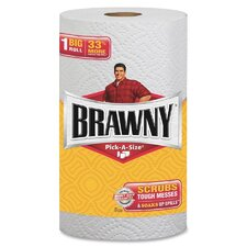 Brawny Paper Towels - 102 Sheets per Roll / 24 Rolls